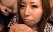Japan beauty throats in lascivious scenes of bondage xxx