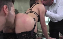 Lilu Moon enjoys getting her ass and pussy fucked