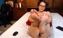 Webcam girl foot fetish