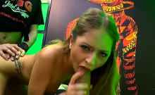 Rebecca volpetti shows extreme bukkakes and cumshots