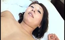 Fingering and Fucking Horny Japanese MILF