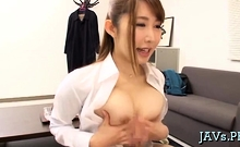 Horny Japanese Teen Gives A Spectacular Tugjob And Oral-job