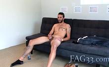 Amateur Brian Adams at porn casting