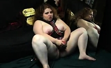 BBW masturbates and Blowjob - negrofloripa