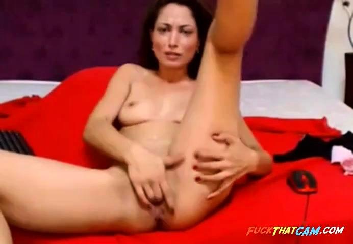 Sexy Blonde Milf Masturbation