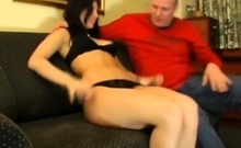 Busty amateur girlfriend homemade anal with facial cumshot