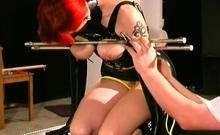 Bombshell invited to take in her vagina dildo