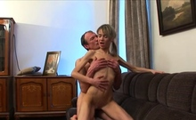 Old teacher is pleasant enjoyable babe's bawdy cleft